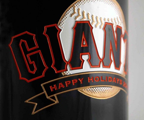 Etched Bottle San Francisco Giants